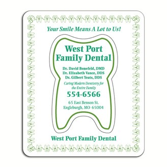 PHF208 - Large Magnetic Photo Frame(Tooth cut-out)