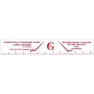 PLR288 - Plastic Ruler