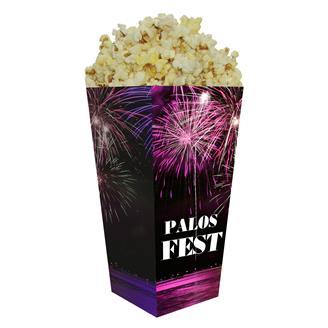 PSB-08D - Full Color Straight Edge Popcorn Box