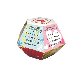 PUC-10 - Pop-up Calendar  - Season Stock Graphic