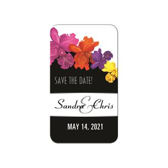 SDM102 - Save the Date Magnet Rounded