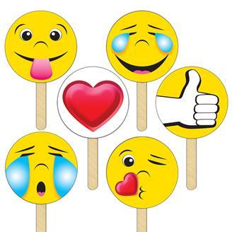 SKEMOD - Selfie Kit Emojis- Printed Full Color
