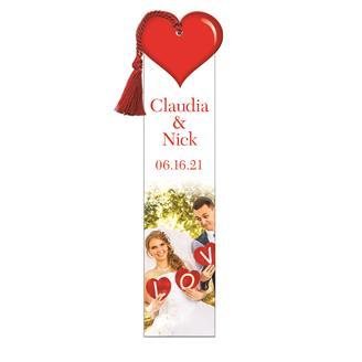 WBM9810 - Heart Bookmark