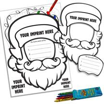 Santa Pop-Out Mask Kit