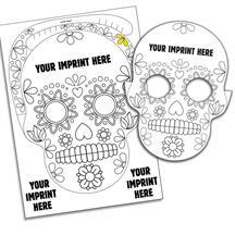 Skull Pop-Out Mask Kit