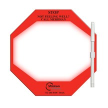 Stop Sign / Octagon Memo Board Full Color
