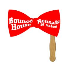 Large Bow Tie Hand Fan