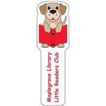 Dog Plastic Bookmark