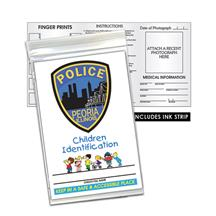 Child ID Kit English Full Color