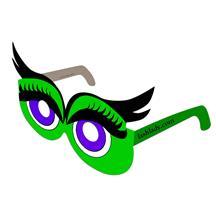 Eyelash Glasses Full Color