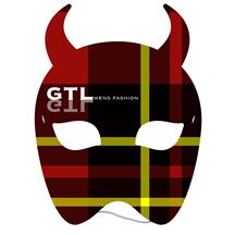 Devil Mask w/elastic Full Color