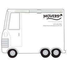 Parcel Truck Memo Board Full Color