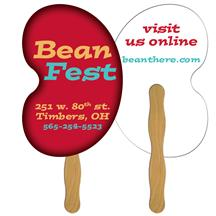 Bean Fast Hand Fan (2 Sides) 1 Day