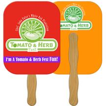 Rectangle Fast Hand Fan (2 Sides) 1 Day 9 x 7