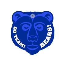 Grizzly Bear Window Sign