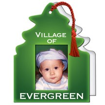 """1 3/4"""" x 2.5"""" Photo Tree Photo Frame with Easel Back"""