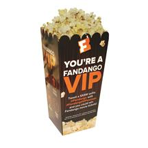 Full Color Large Scoop Style Popcorn Box
