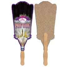 Broom Recycled Hand Fan