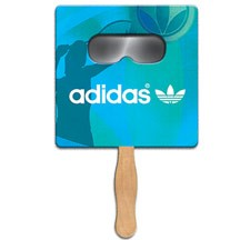 Square Sun Shade Hand Fan
