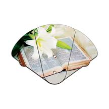 Bible Inspirational Expandable Hand Fan Full Color Stock Graphic