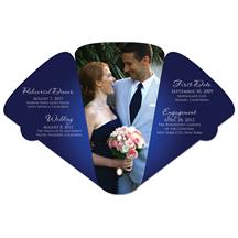 Large 4 Part Expandable Hand Fan Full Color Stock Graphic