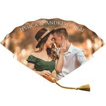 Tassel Wedding Hand Fan tassel included
