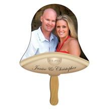Bell Wedding Keepsake Hand Fan