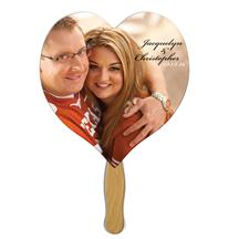 Heart Wedding Keepsake Hand Fan
